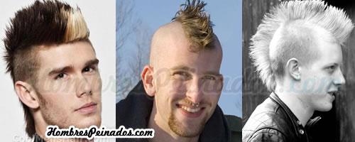 Peinado mohicano para hombres