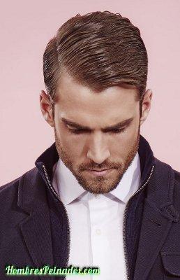 peinado formal hombre moda cabello corto