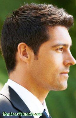 peinado-formal-pelos parados novio cabello corto