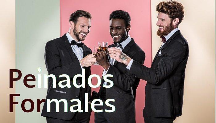 Peinados formales para hombres